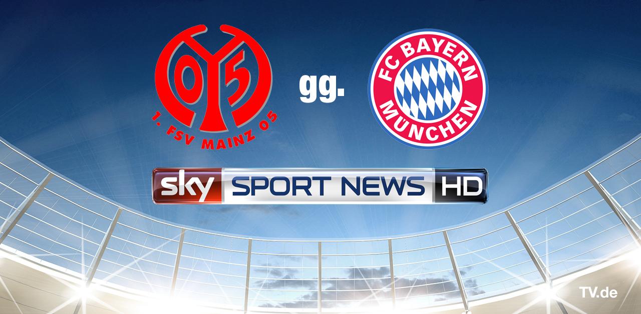 1. FSV Mainz 05 gg. FC Bayern München auf Sky Sport News HD