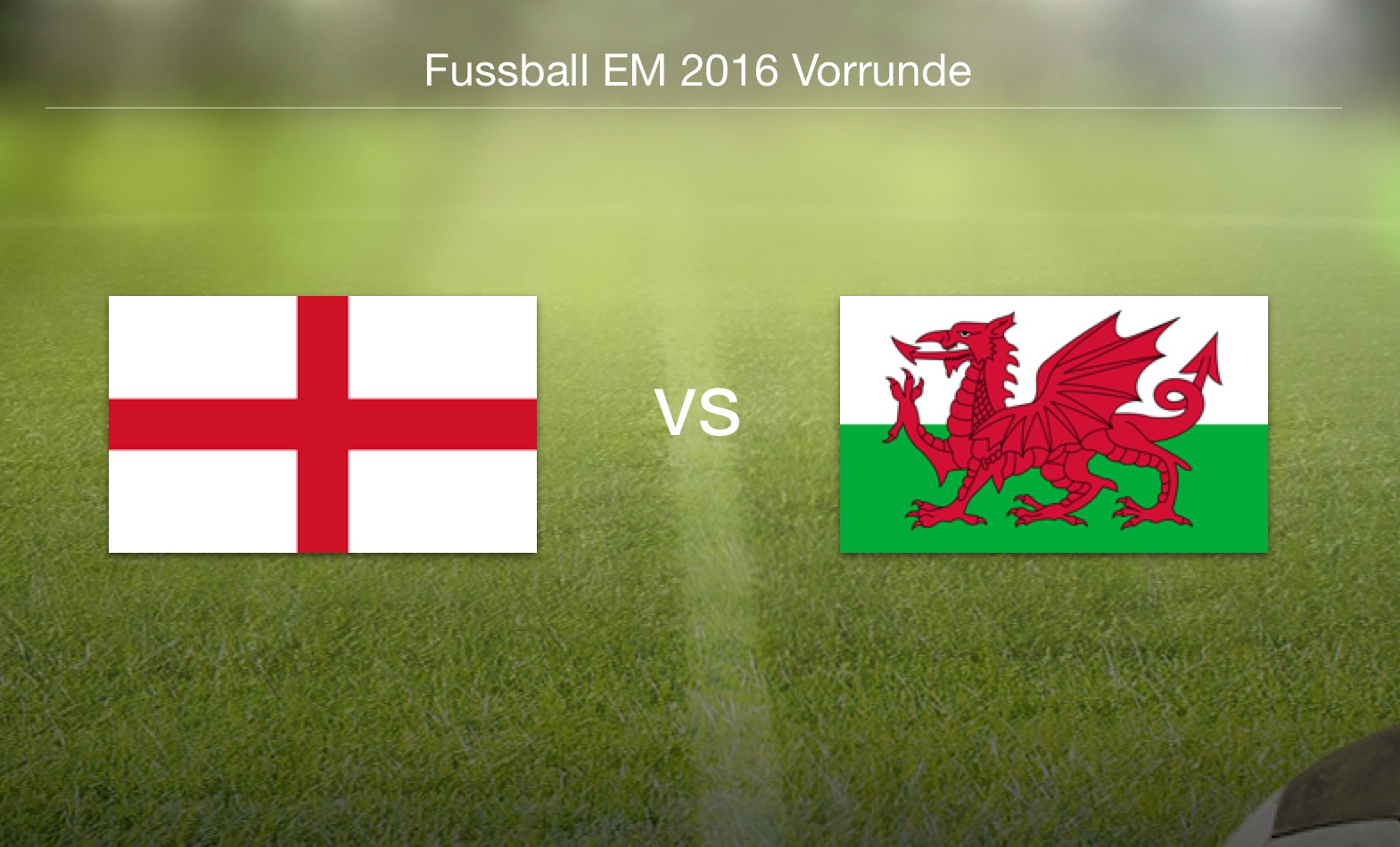 EM 2016 - England gegen Wales