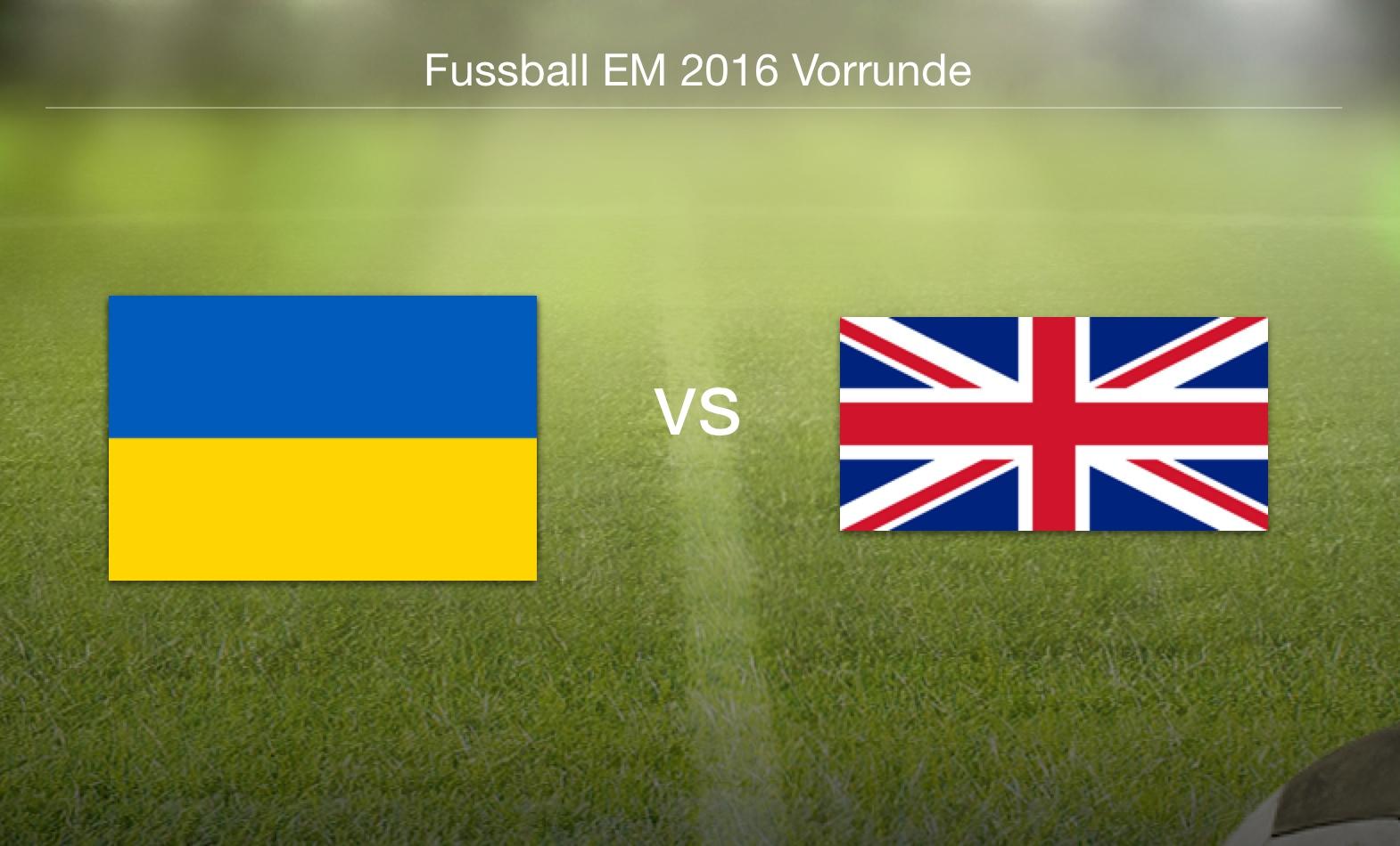 EM 2016 - Ukraine gegen Nordirland