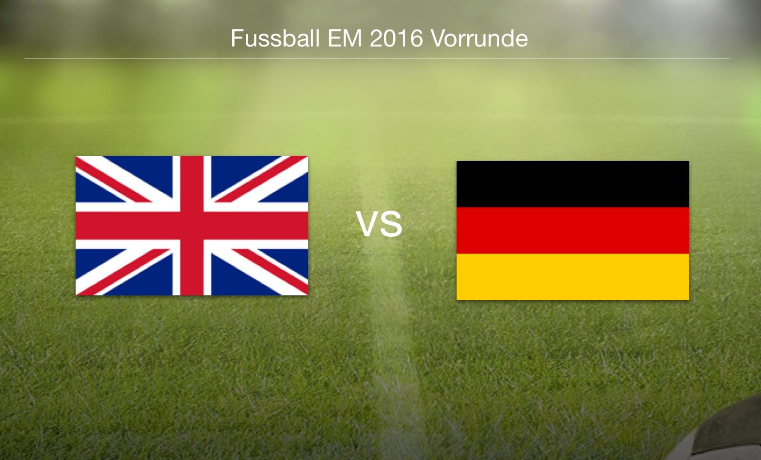 EM 2016 - Nordirland gegen Deutschland