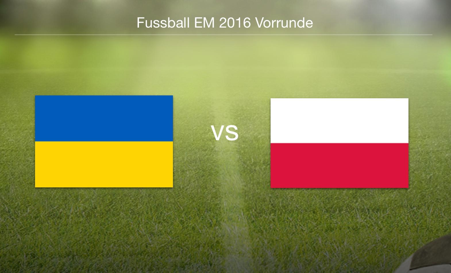 EM 2016 - Ukraine gegen Polen
