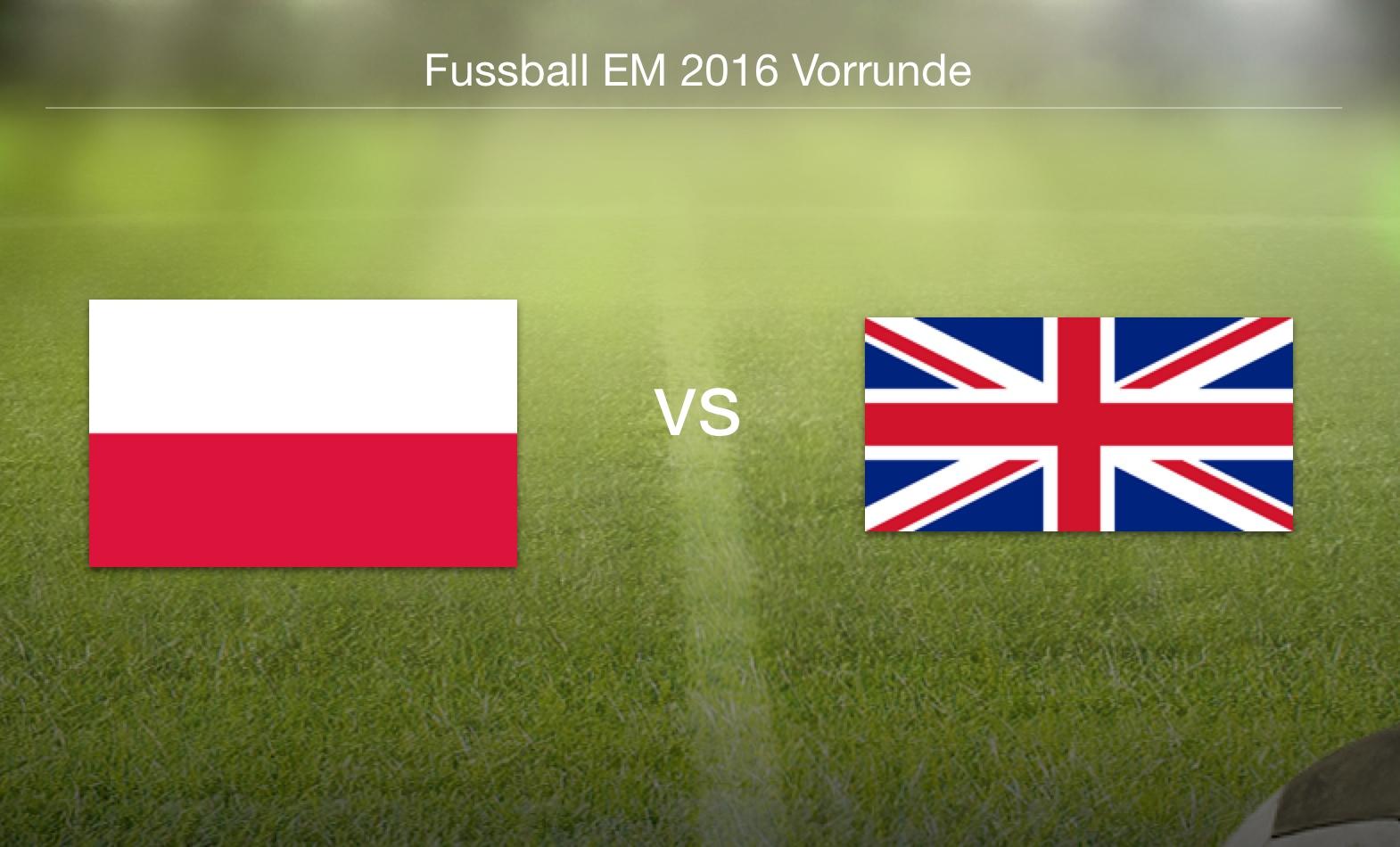 EM 2016 - Polen gegen Nordirland
