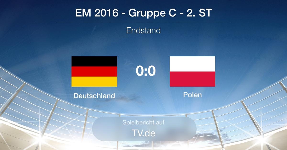 Der Spielbericht: Deutschland - Polen (0:0)