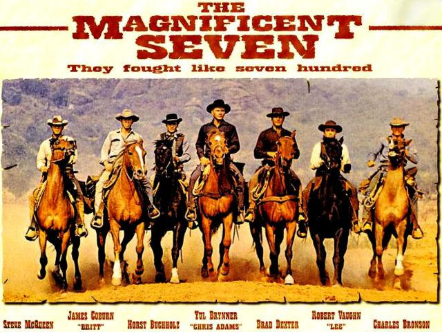 Die glorreichen Sieben reiten wieder