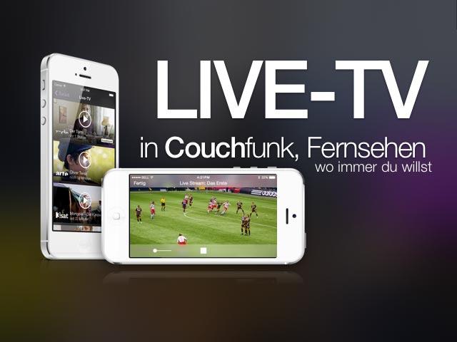 Mobil fernsehen mit Couchfunk!