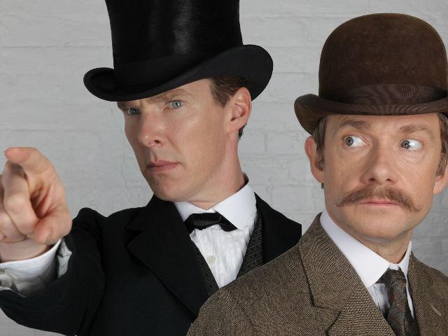 Sherlock präsentiert sich mal anders