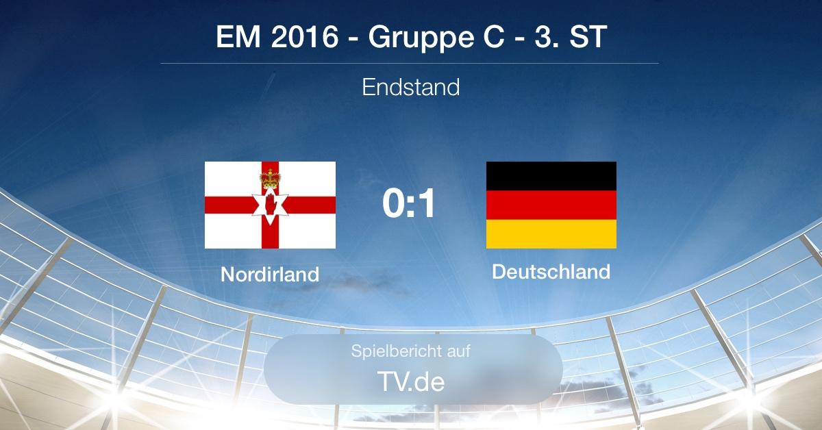 Spielbericht: Nordirland gg Deutschland (0:1)