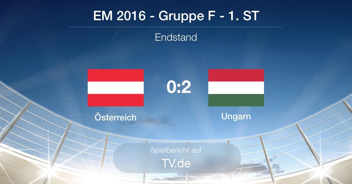 Spielbericht: Österreich gg. Ungarn (0:2)