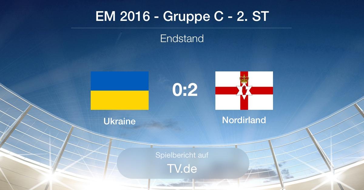 Spielbericht Ukraine gg. Nordirland (0:2)