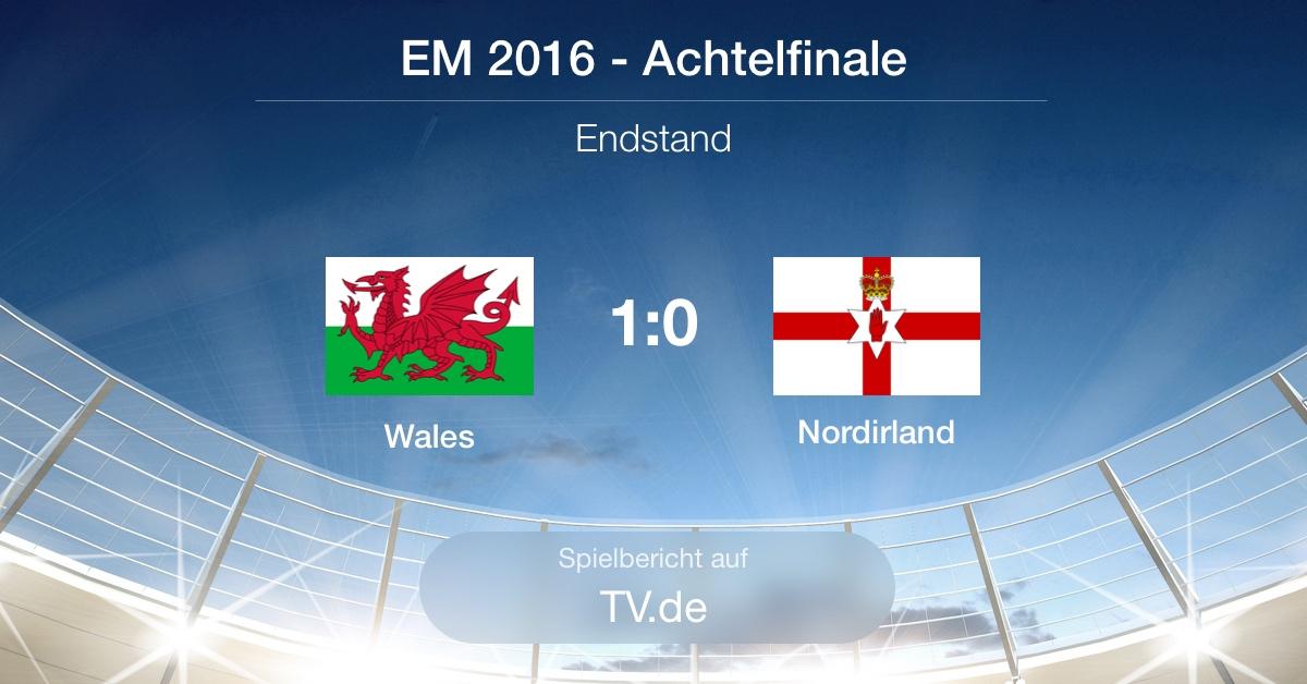 Spielbericht: Wales gg. Nordirland (1:0)
