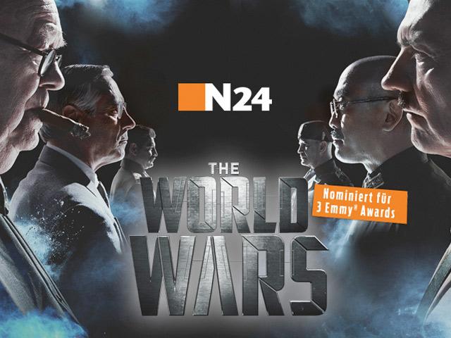 TV-Premiere von The World Wars