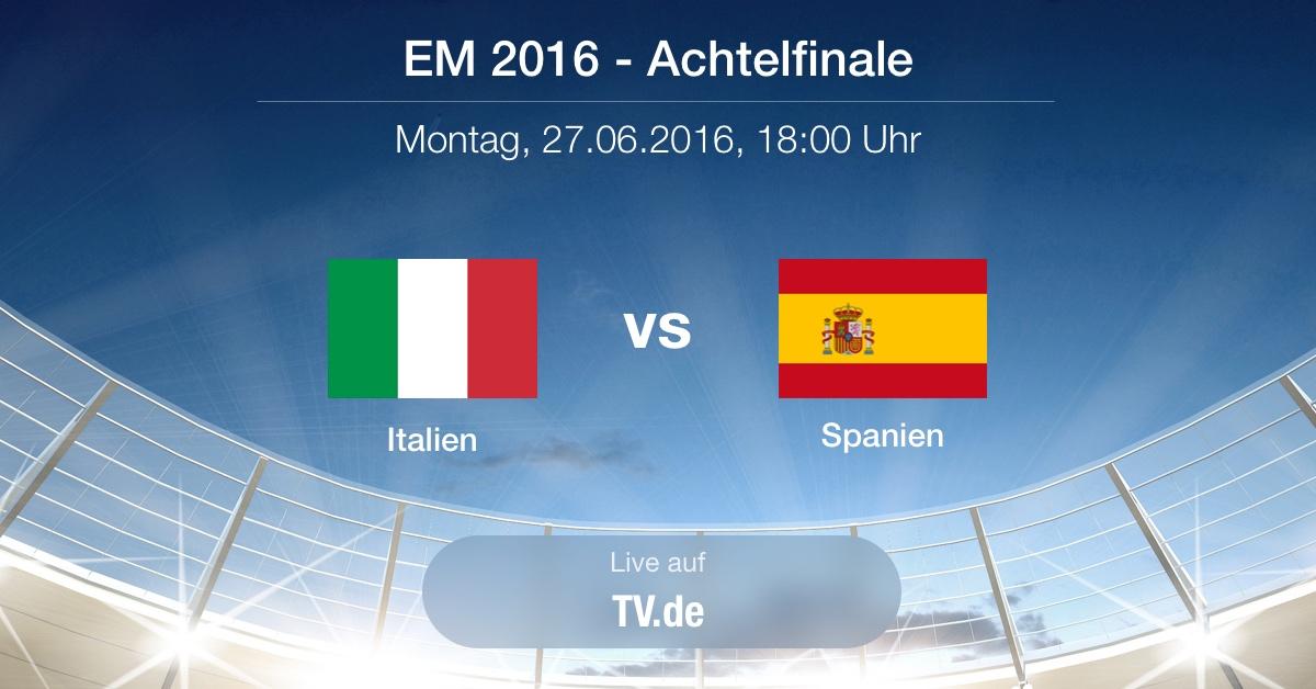 Vorbericht: Achtelfinale - Italien gg. Spanien