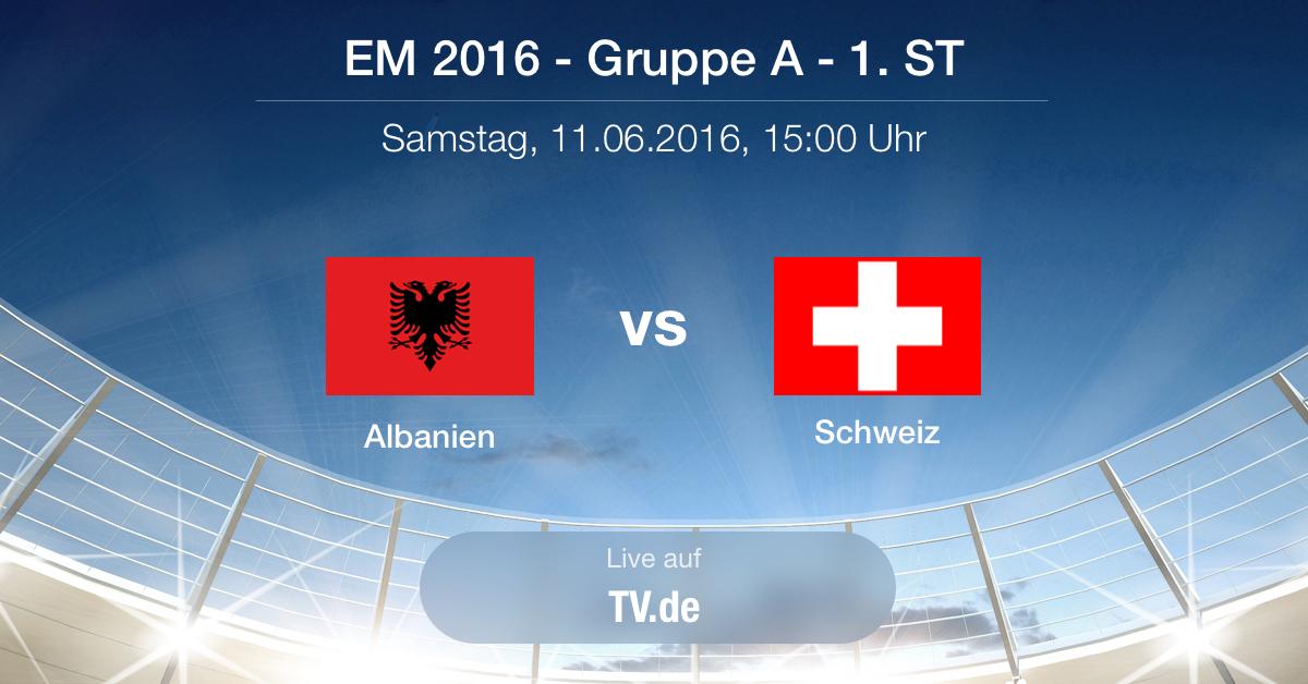 Vorbericht: Albanien gegen Schweiz