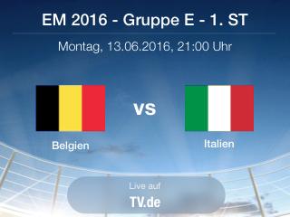Vorbericht Belgien gegen Italien