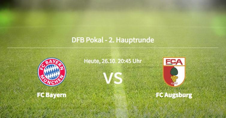 Vorbericht: DFB-Pokal - FC Bayern gg. FC Augsburg