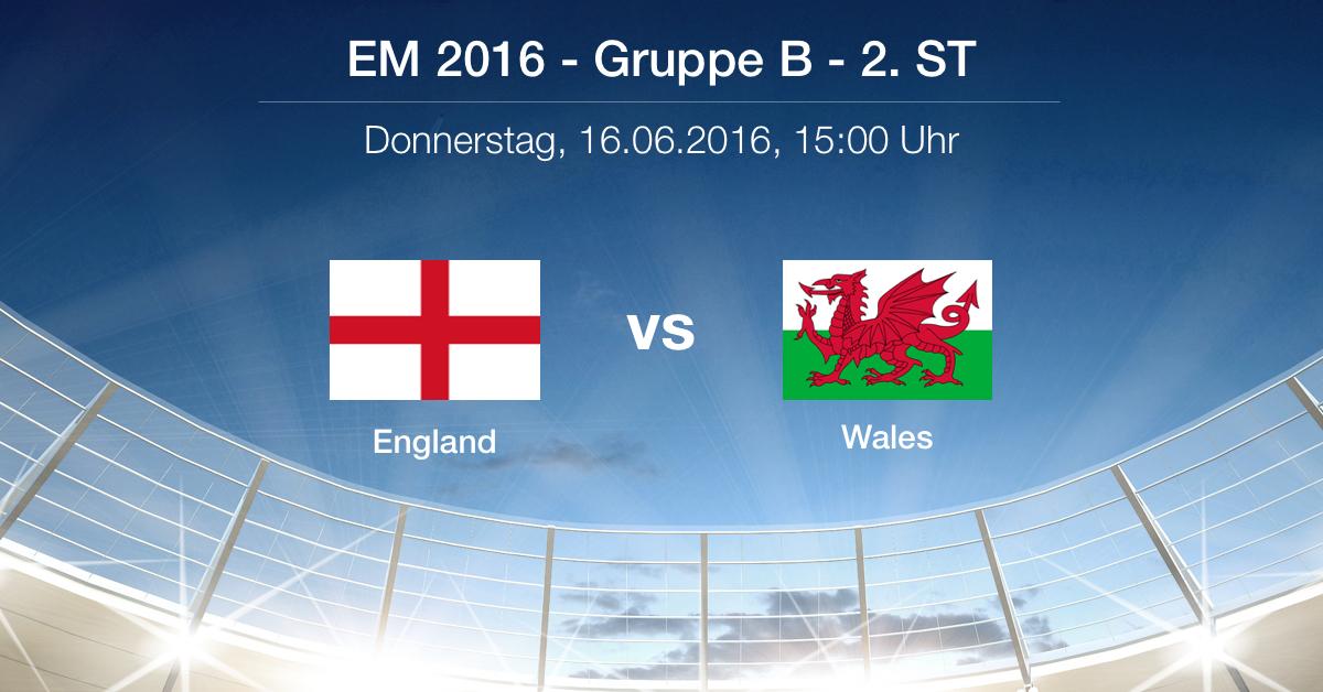 Vorbericht England gegen Wales