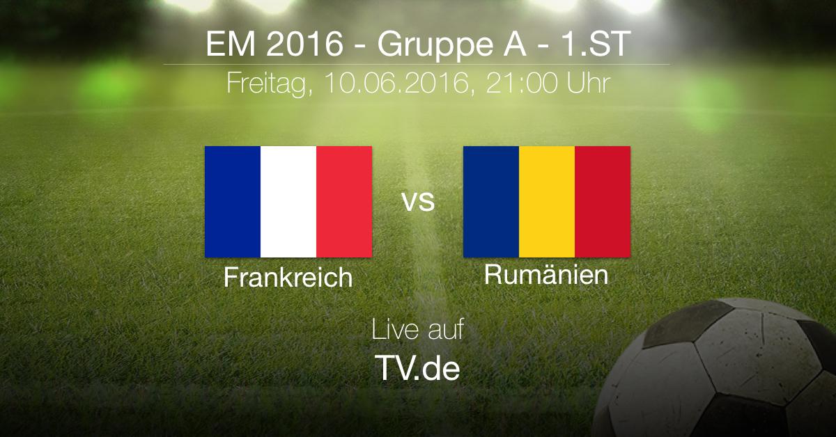 Vorbericht Frankreich gegen Rumänien