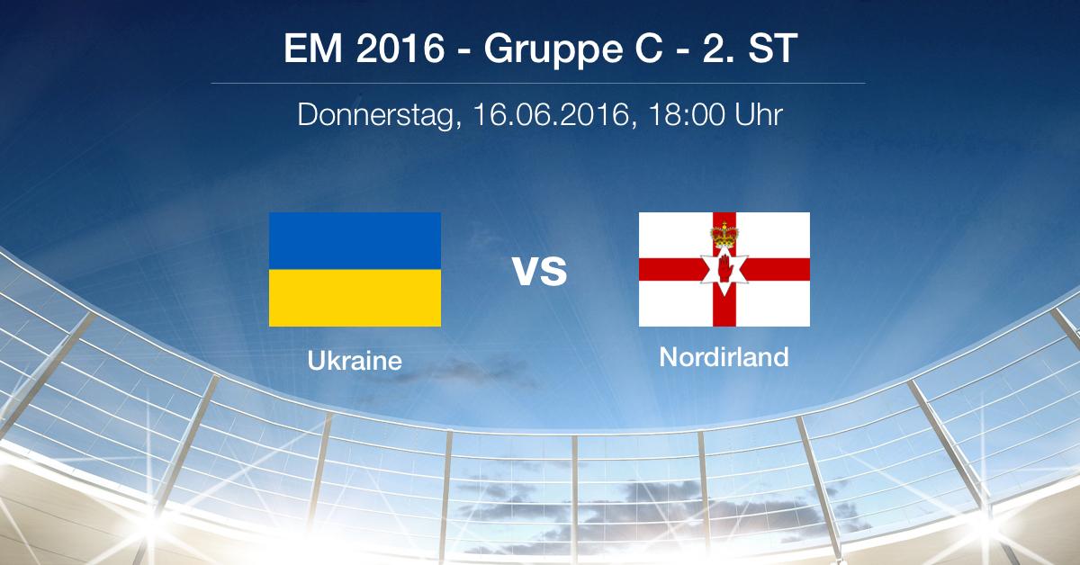 Vorbericht: Gruppe C - Ukraine gg. Nordirland