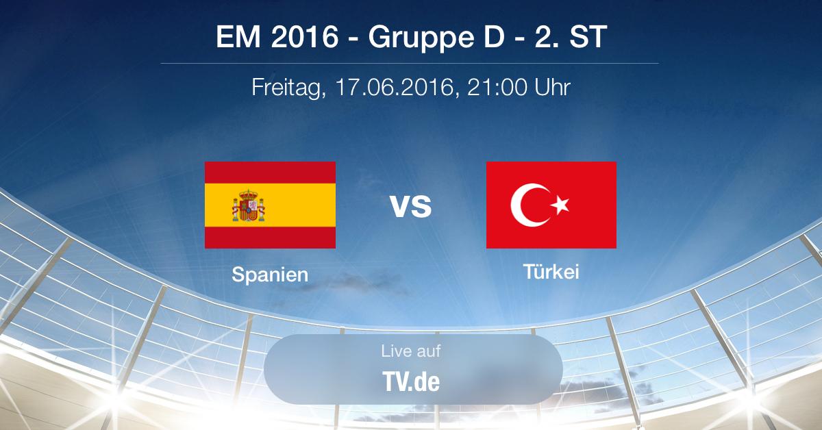 Vorbericht: Gruppe D - Spanien gg. Türkei