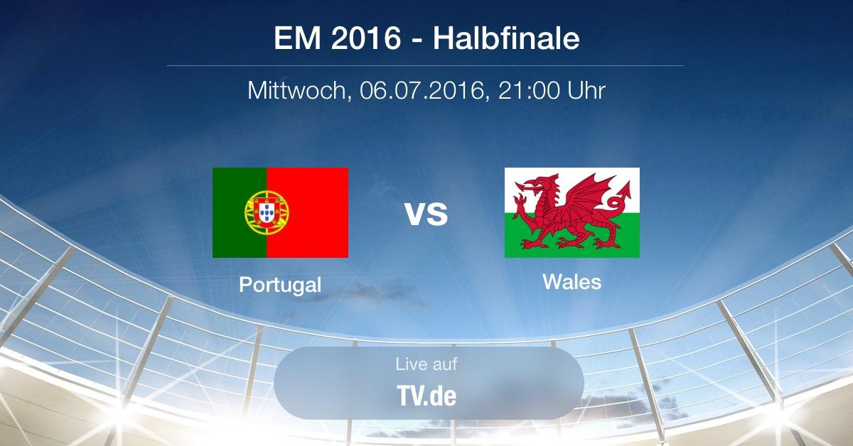 Vorbericht: Halbfinale - Portugal gg. Wales
