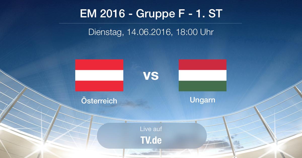 Vorbericht: Österreich - Ungarn Gruppe F 1.ST