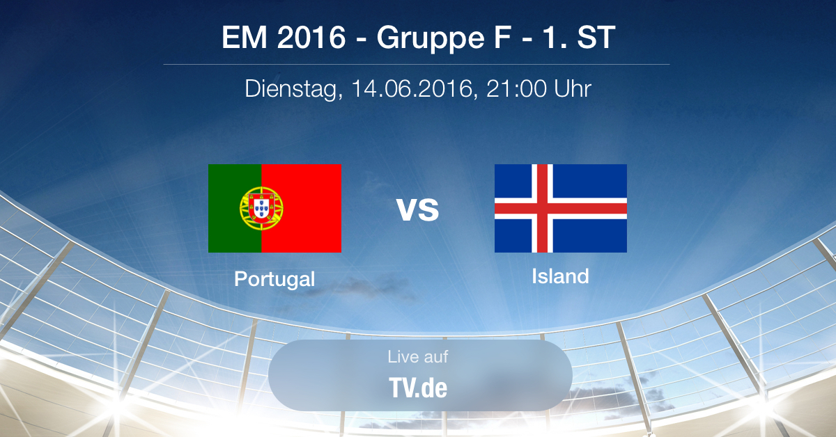 Vorbericht: Portugal gg. Island