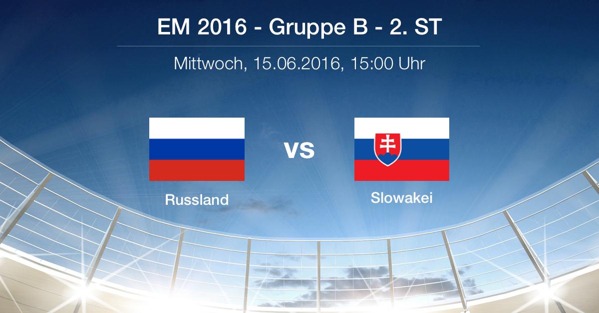 Vorbericht: Russland Slowakei - Gruppe B