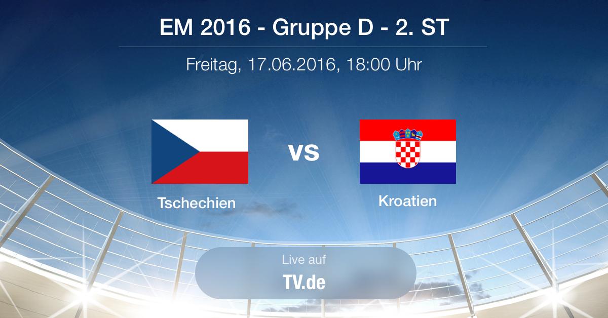 Vorbericht Tschechien gegen Kroatien