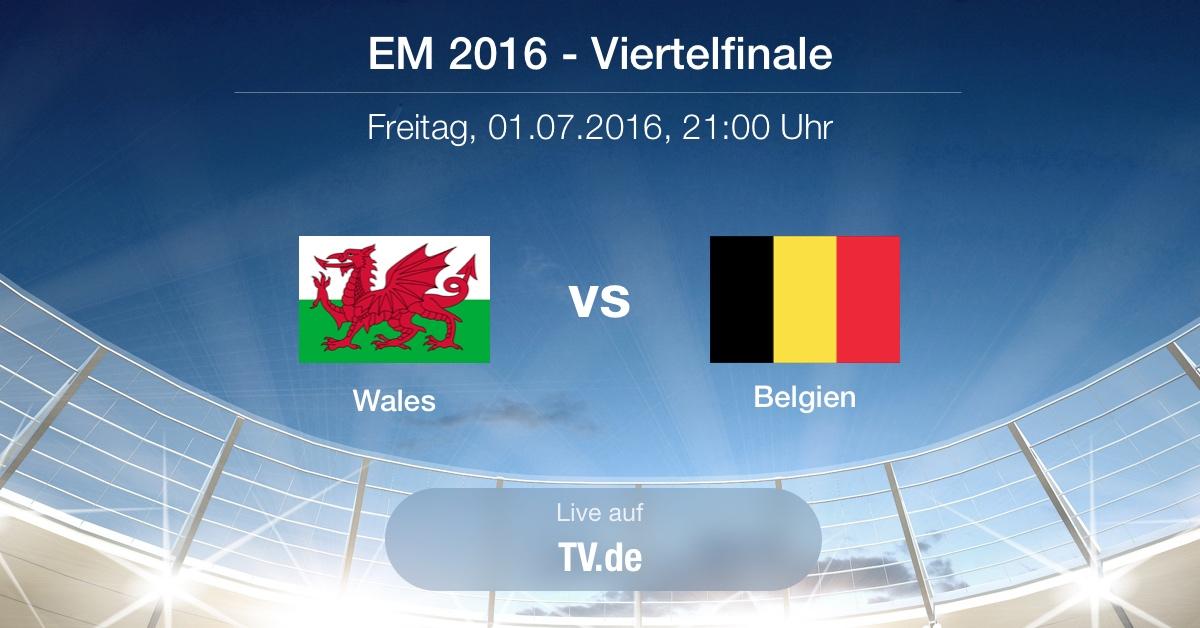 Vorbericht: Viertelfinale - Wales gg. Belgien