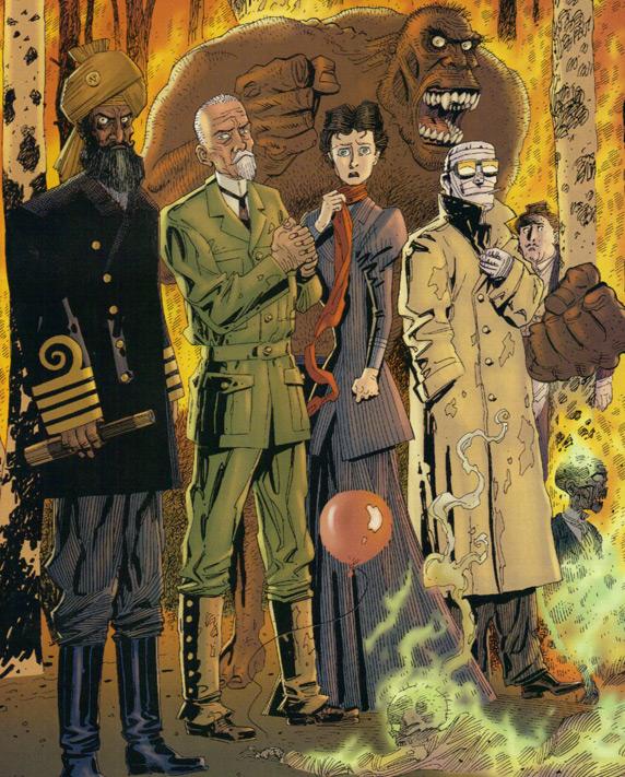 Vorhang auf für Quatermain, Nemo und Dorian Gray