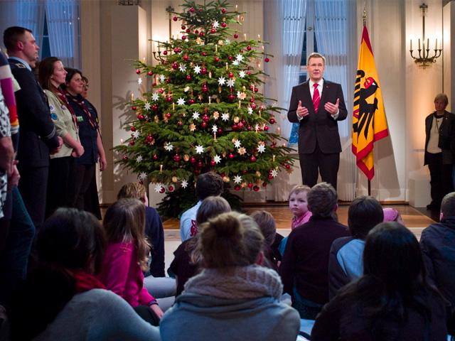 Weihnachtsansprachen von Bonn bis Bellevue