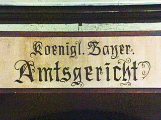Königlich Bayerisches Amtsgericht: Das Gespenst